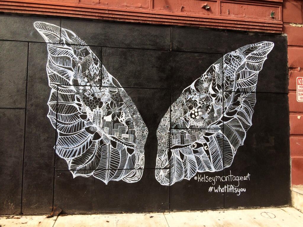 Decoração Grafite no Quarto  Piece Of A Star